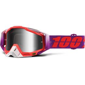 100% Racecraft Anti Fog Clear - Masque - rouge